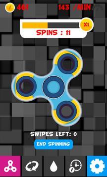 Fidget Spinner Stress Buster Game poster