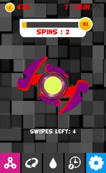 Fidget Spinner Stress Buster Game apk screenshot