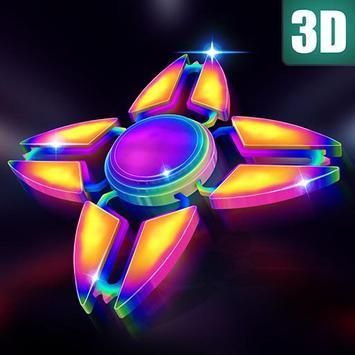 Fidget Spinner 3D Game poster