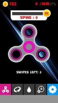 Fidget spinner mini poster