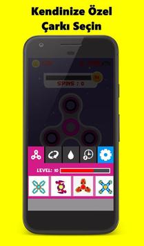 Fidget Spinnner - Stress Çarkı apk screenshot
