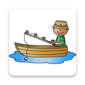 Fishing Hook Simple Game icon
