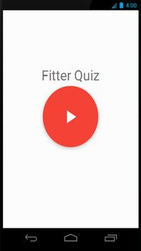 Fitter Quiz poster