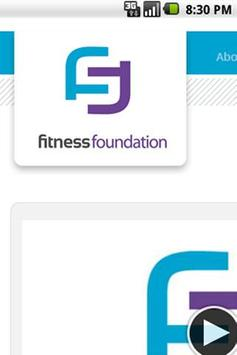 Fitness Foundation poster