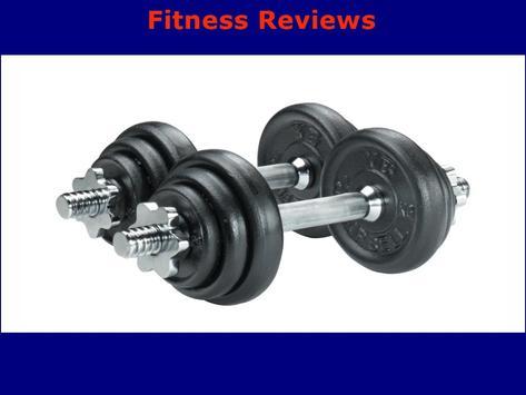 Fitness Reviews screenshot 1