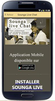 Sounga Live Chat poster