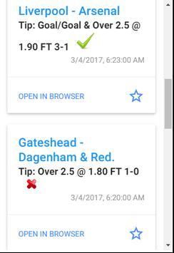 Football Tips screenshot 2
