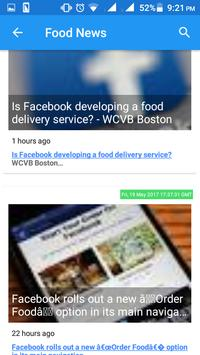 food news poster