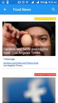 food news screenshot 1