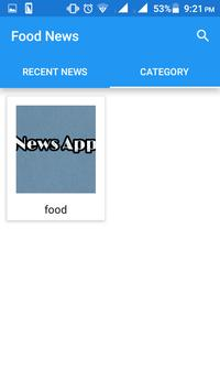 food news screenshot 2