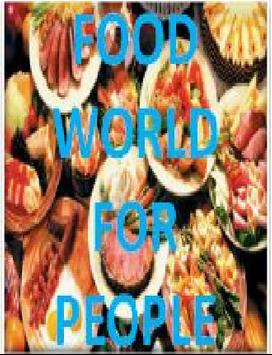 Food World For People poster
