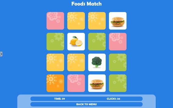 Food Match Cute Game apk screenshot