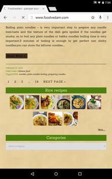Foodvedam apk screenshot