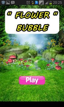 Flower Bubble poster