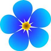 Flowers in BlueSky icon