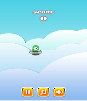 Flappy Alien screenshot 2