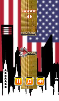 Flappy Trump Baby apk screenshot