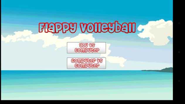 Flappy Volleyball apk screenshot