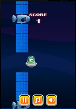 Flappy Space screenshot 1