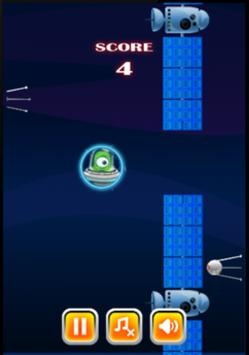 Flappy Space screenshot 2