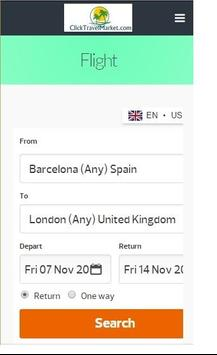 Travel Bookings apk screenshot