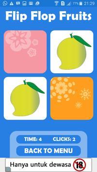 Flip Flop Fruits poster