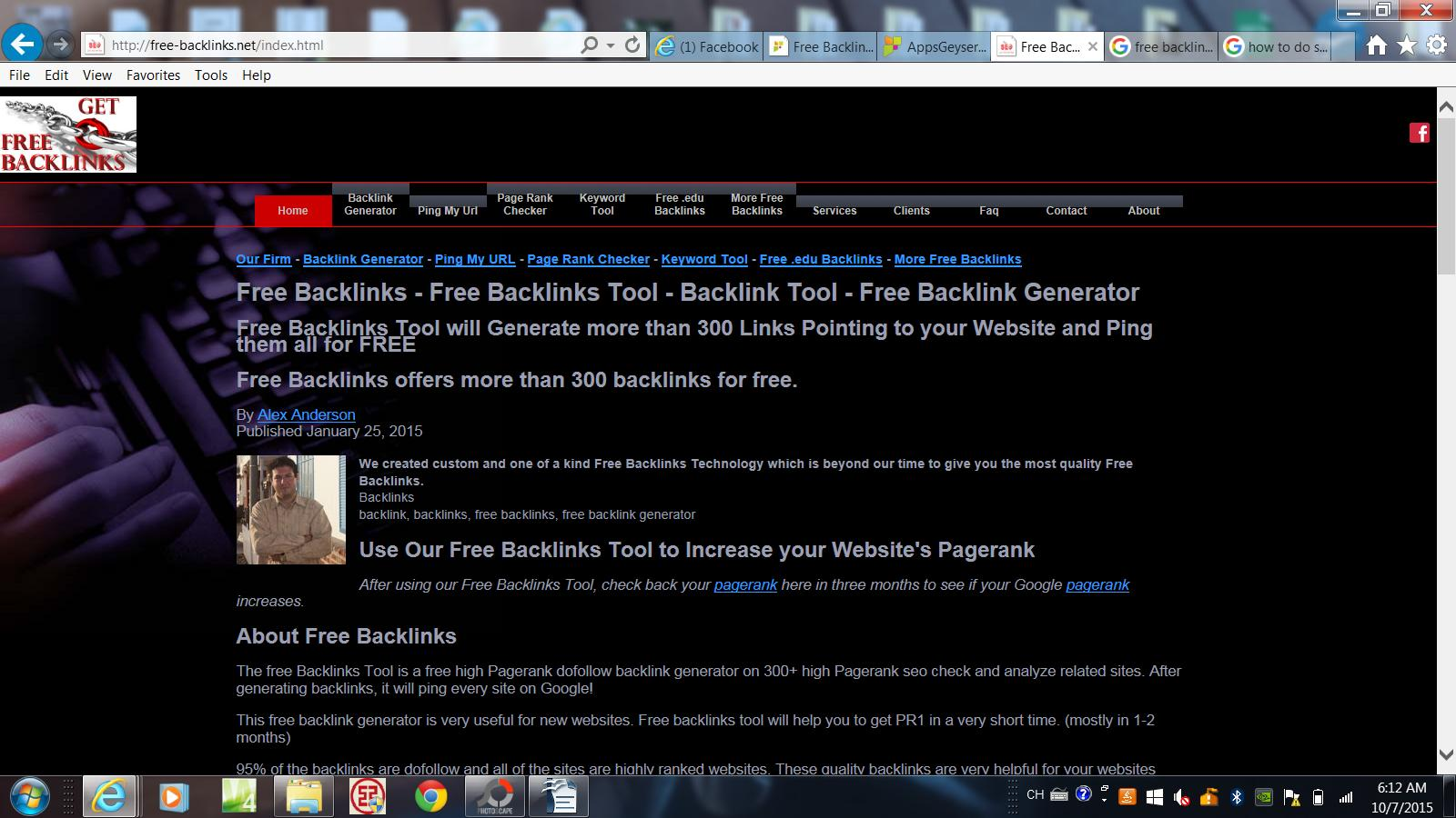 Free Backlinks Generator for Android - APK Download
