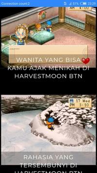 Free Harvestmoon BTN Walkthrough poster