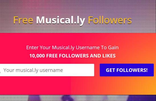 10.000 Musically Followers poster