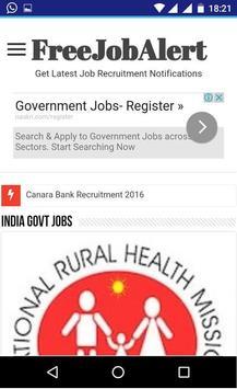 Free Job Alerts poster