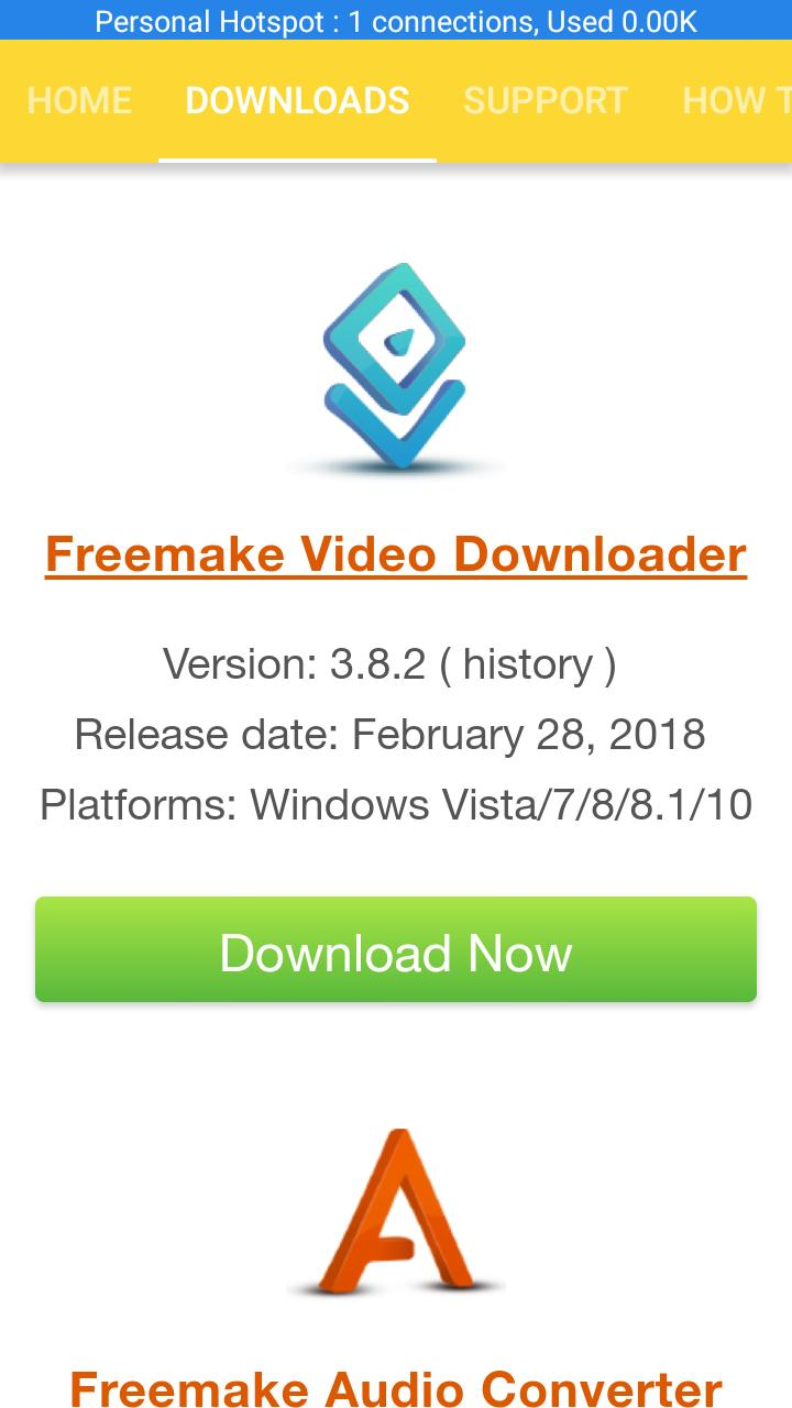 Freemake Video Converter for Android - APK Download