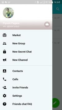 Friends hat chat screenshot 1