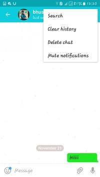 Friends hat chat screenshot 2