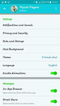 Friends hat chat screenshot 3