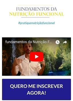 Fundamentos da Nutrição funcional poster
