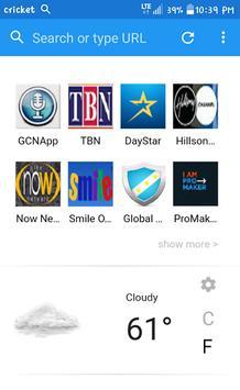 GCN Network Browser apk screenshot