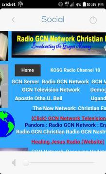 GCN Radio apk screenshot
