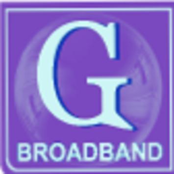 G Broadband poster
