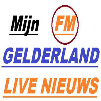 Mijn Gelderland ,MUZIEK FM poster