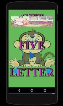 GET FIVE LETTER poster