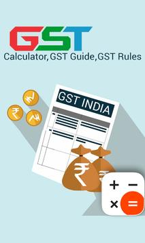 GST India - GST HSN code and GST rate finder poster