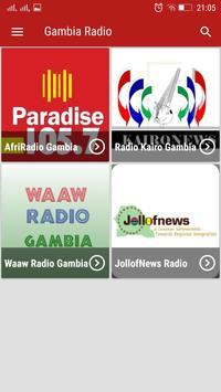 Gambia Radio poster