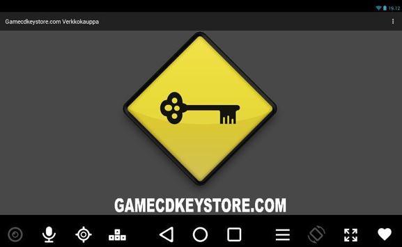 Gamecdkeystore.com apk screenshot