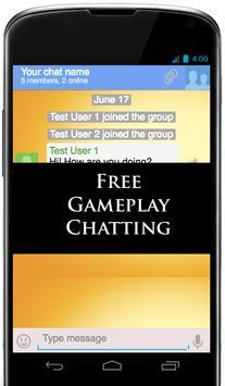Gameplay Chat apk screenshot