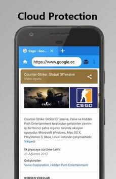 Gamer Browser - Fast and flash apk screenshot