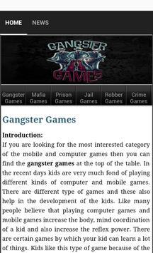 Gangster Games poster