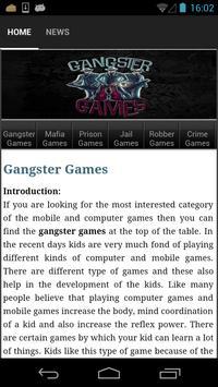 Gangster Games apk screenshot