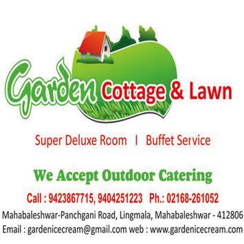 Garden Cottage and Icecream poster