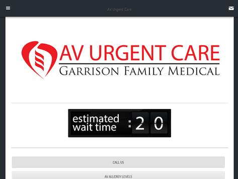 AV Urgent Care apk screenshot