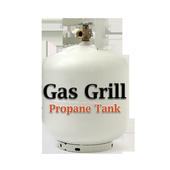 Gas Grill Propane Tank icon